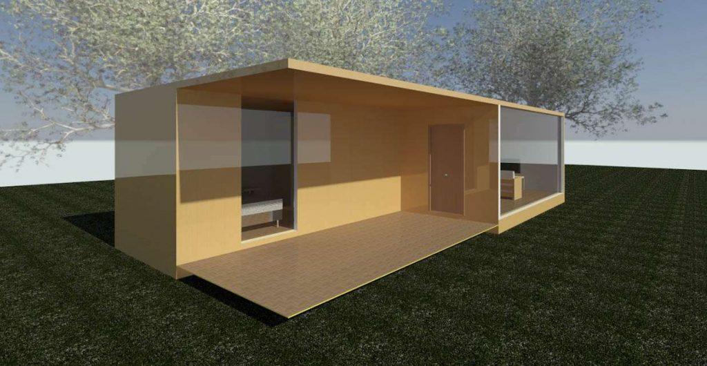 Casas hechas de contenedores icc iberia cranes - Casas hechas con contenedores precios ...
